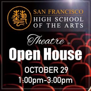 Tue, Oct. 29 — Open House @ 1-3pm