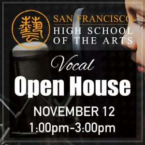 Vocal Open House @ 1-3pm